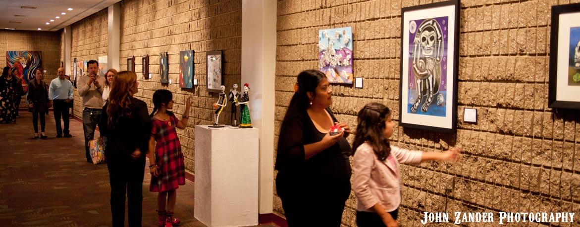 Día de los Muertos Art Gallery